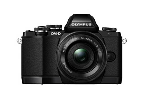 Olympus OMD E-M10 camera black