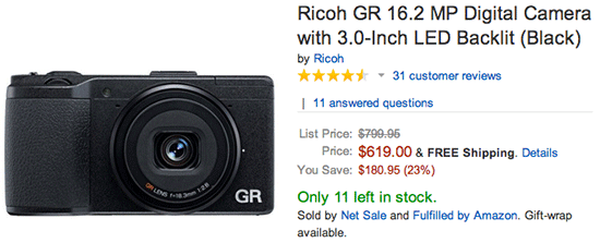 Ricoh-GR-compact-camera-sale