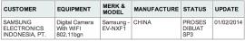 Samsung - EV-NXF1 camera
