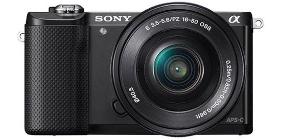 Sony-Alpha-A5000-camera-black-front