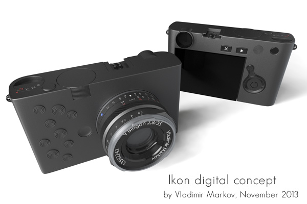 Zeiss Ikon digital camera concept