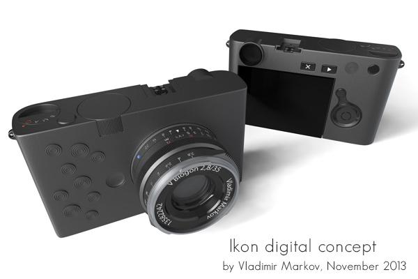 Zeiss Ikon digital camera concept