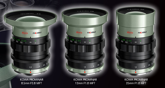 New-Kowa-Micro-Four-Thirds-lenses