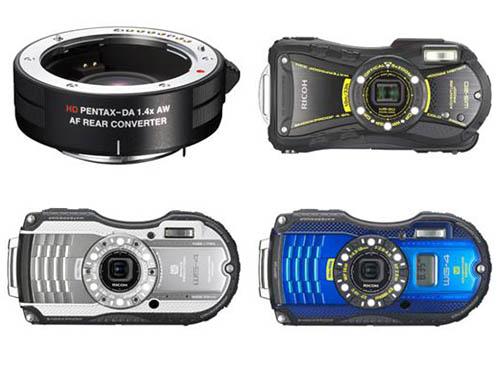 Ricoh WG-20 WG-4 compact cameras