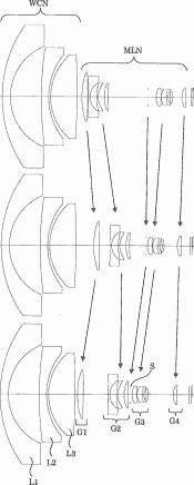 Ricoh 0.7x wide converter patent