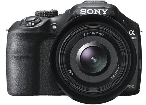 Sony a3500 camera