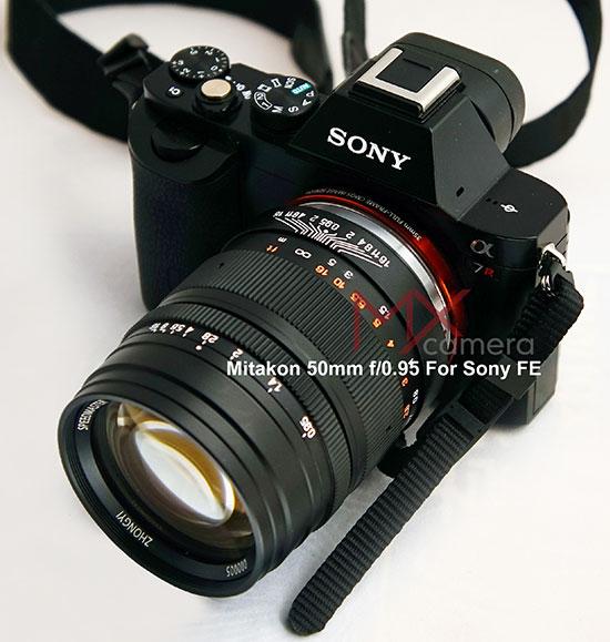 Mitakon-50mm-f0.95-lens