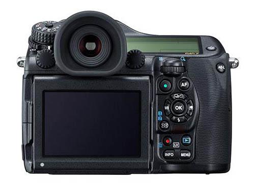 Pentax 645z medium format camera back