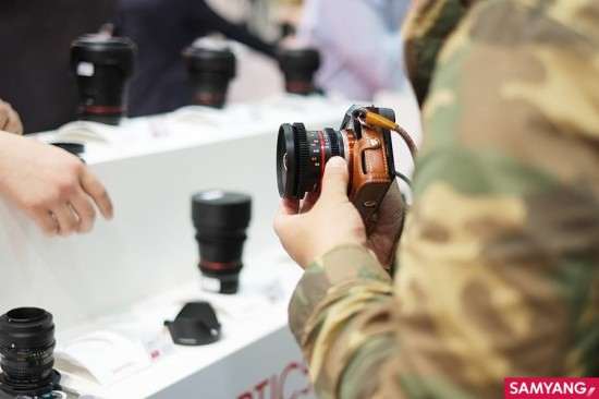 Samyang 12mm cine lens