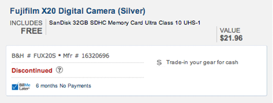 Fuji-X20-camera-discontinued