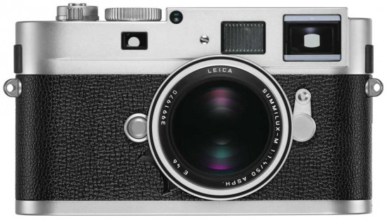 Leica-M-Monochrom-camera-silver-chrome-finish