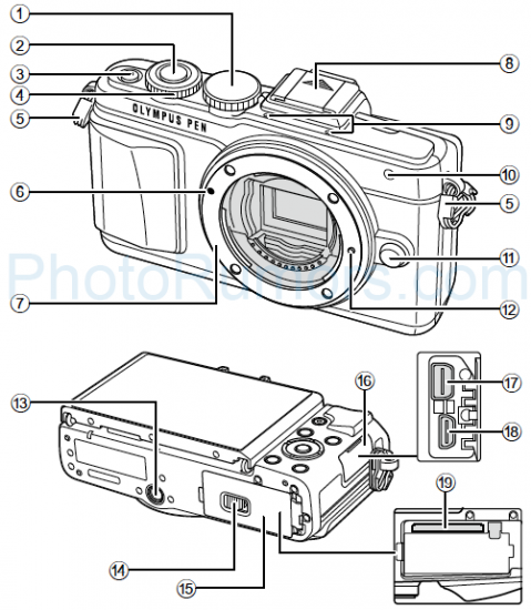 Olympus-PEN-E-PL7-camera
