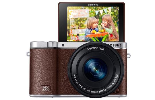 Samsung-SMART-NX3000-mirrorless-camera-front