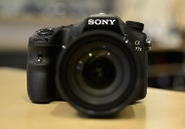 Sony-a77-II-camera-front