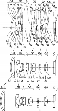 Olympus M.Zuiko Digital 12-40mm f:2.8 lens patent