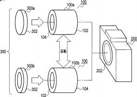 Olympus reversible lens patent
