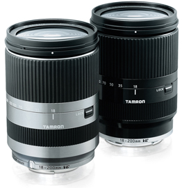 Tamron 18-200mm F:3.5-6.3 Di III VC lens for Canon EOS M mount (Model B011)