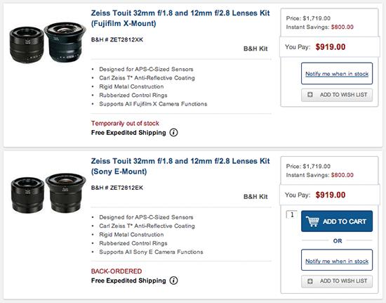 Zeiss-Touit-lenses-sale