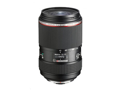 Pentax 645 28-45mm f:4.5 wide-angle medium format zoom lens