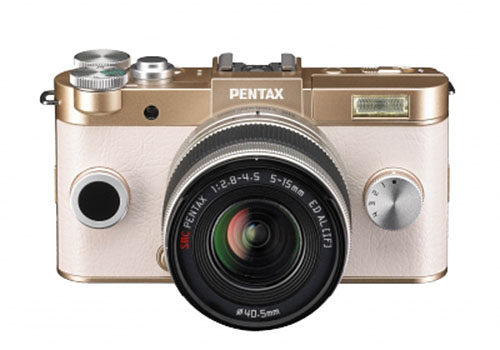 Pentax Q-S1mirrorless camera