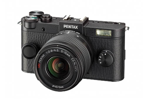 Pentax Q2 mirrorless camera black