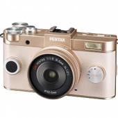 Pentax Q2 mirrorless camera gold