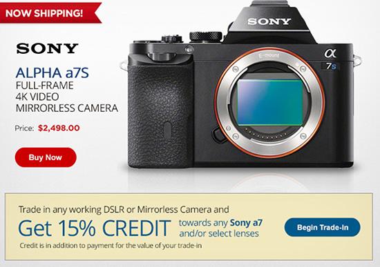 Sony-a7s-camera-trade-in-program