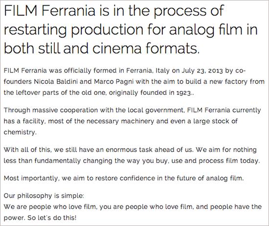 Ferrania-to-start-producing-film-again