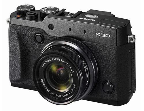 Fuji X30 camera black