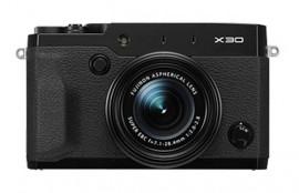 Fujifilm X30 camera black