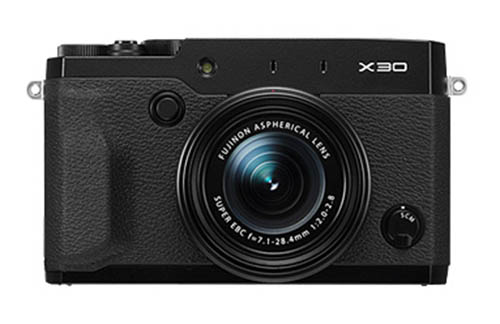 Fujifilm X30 camera black