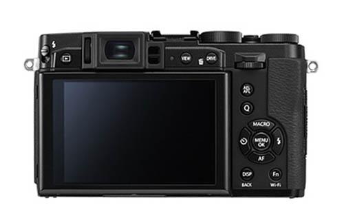 Fujifilm X30 compact camera black