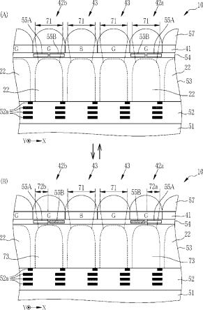 Fujifilm hybrid AF pixel dimming element patent