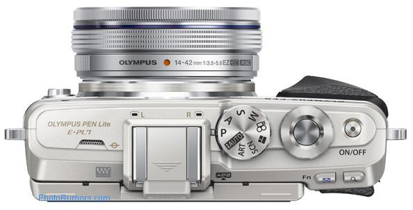 Olympus-PEN-E-PL7-MFT-camera-top