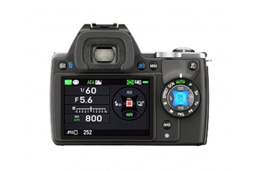 Pentax K-S1 DSLR camera back
