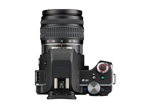 Pentax K-S1 DSLR camera top
