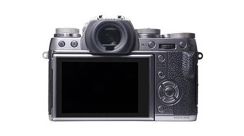 Fuji X-T1 graphite silver camera back