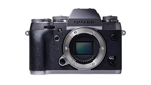 Fuji X-T1 graphite silver camera