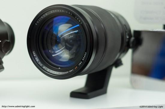 Fujifilm 140-400mm f:4-5.6 R LM OIS WR lens