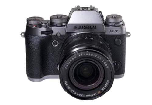 Fujifilm X-T1 graphite silver camera