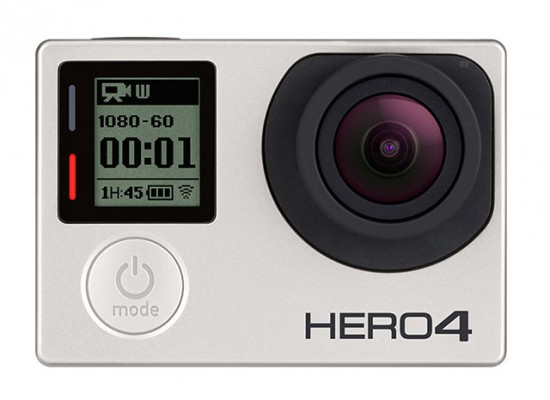 GoPro Hero 4 Silver camera front