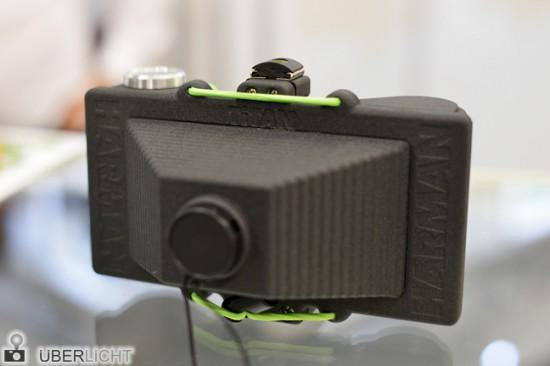 Ilford Harman Titan 120 medium format pinhole camera prototype