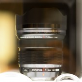 Olympus 14mm f:2.8 prototype lens