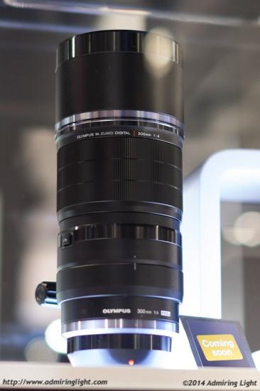 Olympus 300mm f:4 prototype lens