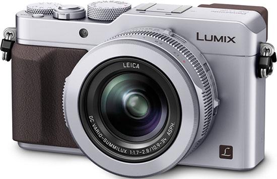 Panasonic-LX100-camera-silver