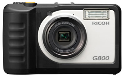 Ricoh G800 dust impact water and chemical resistant compact camera
