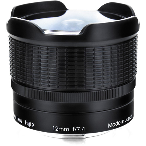 Rokinon 12mm f:7.4 RMC fisheye Lens for Fujifilm cameras