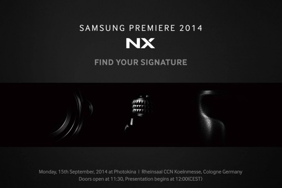 Samsung NX1 mirrorless camera teaser