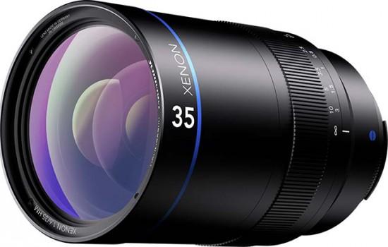 Schneider-Kreuznach Xenon 35mm f:1.6 lens