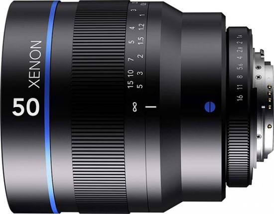 Schneider-Kreuznach Xenon 50mm f:1.4 lens